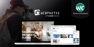 WebPhotos Photography Theme