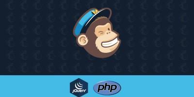 Integração Mailchimp via API PHP com retorno via AJAX