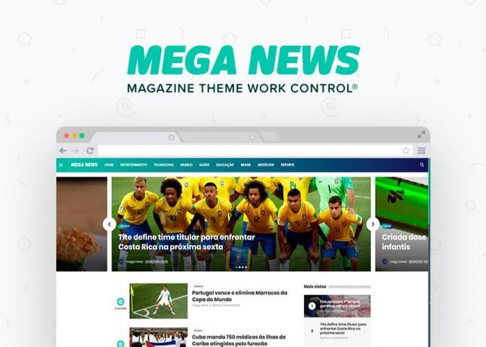 Mega News Magazine Theme