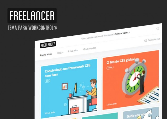 Freelancer Theme Work Control