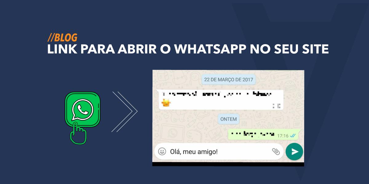 53397c3fe7 Link para abrir o WhatsApp no seu site [TESTADO] - Web Creative