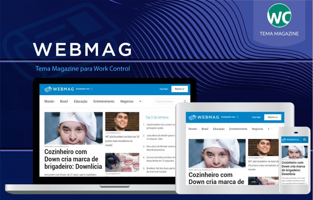 WEBMAG Magazine Theme