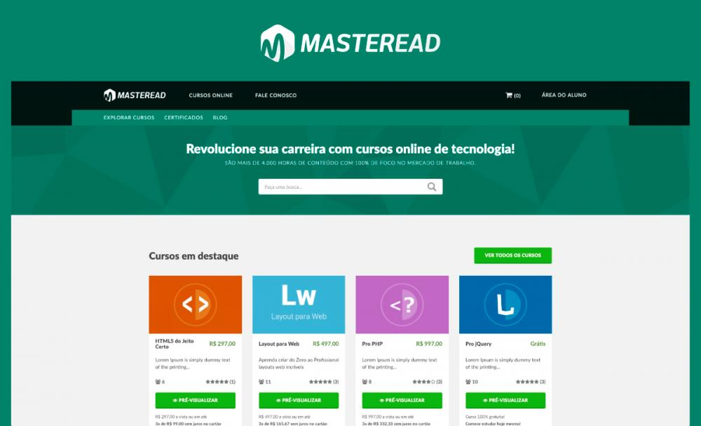 Master EAD Learning Theme
