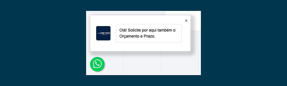 Crie seu próprio Widget para WhatsApp