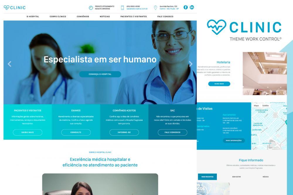 Clinic Theme Work Control®